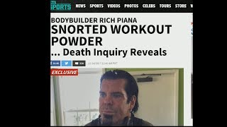 Rich Piana DID Snort PreWorkout According To D.I.