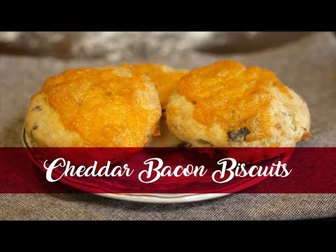 KitchenAid Recipe Series Cheddar Bacon Biscuits
