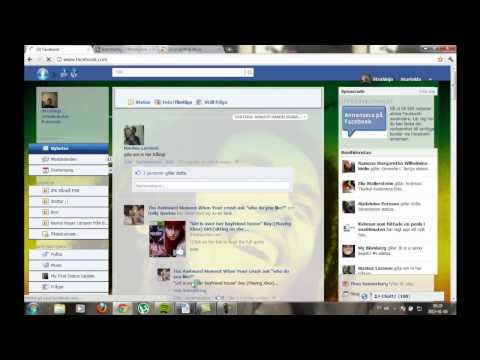 How to change your facebook theme on Google Chrome