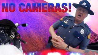 "Cops VS Bikers 2017 - ""No Cameras & Why You Riding?"""