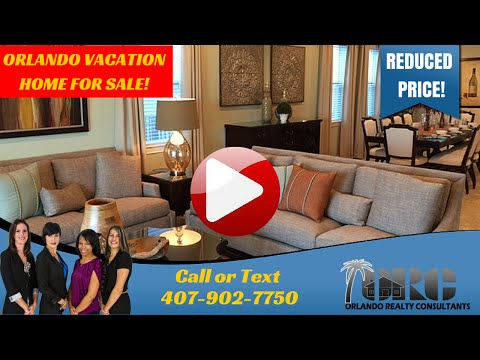 Orlando Vacation Home, Reduced Price! | Buy A Vacation Rental Home | ORC