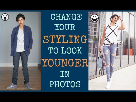 HOW TO IMPROVE YOUR STYLE/ LOOK YOUNGER THAN YOUR AGE IN PHOTOS/ EASY TIPS