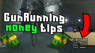 How to get more money on gun running GTA 5