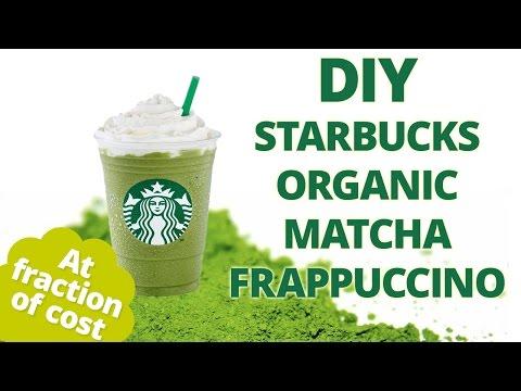 Starbucks green tea frappuccino DIY