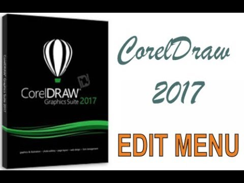 COREL DRAW 2017 USING EDIT MENU HINDI URDU PART 42