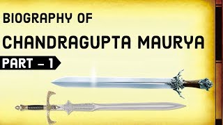 Download Biography of Chandragupta Maurya Part-1 - Founder of Mauryan Empire & Sandrocottus of India Video