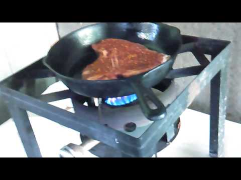 How to cook Perfect steak in a cast iron skillet.