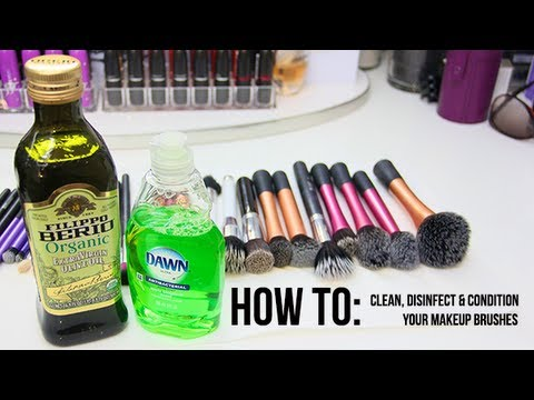 HOW TO: Deep Clean, Disinfect & Condition Your Makeup Brushes