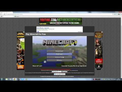 How to play Minecraft NO DOWNLOAD (FREE)