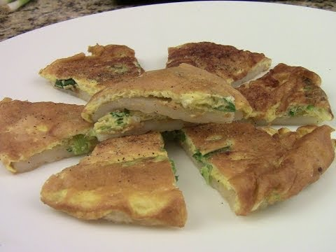 Chinese Rice Flour Pancake And Eggs (1/2)