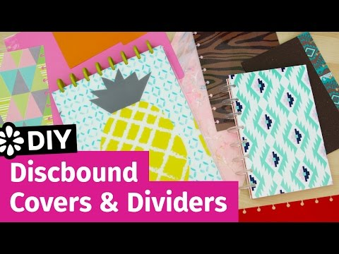 DIY Discbound Notebook Covers & Dividers | Sea Lemon