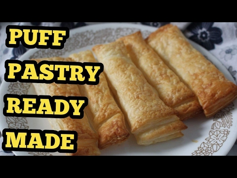 Pampas Puff pastry / puff / plain puff / simple and easy recipe/ 1 minute recipe