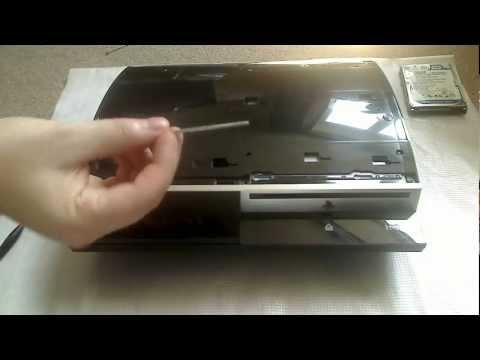 How to take apart a PS3 40GB