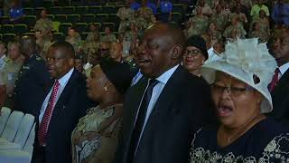 Ramaphosa hails SANDF for not interfering in politics