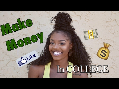Quick Ways to MAKE MONEY in COLLEGE! | College Survival Guide