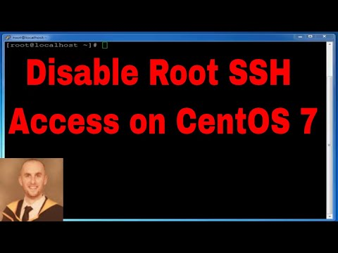 How to Disable Root SSH Access on CentOS 7