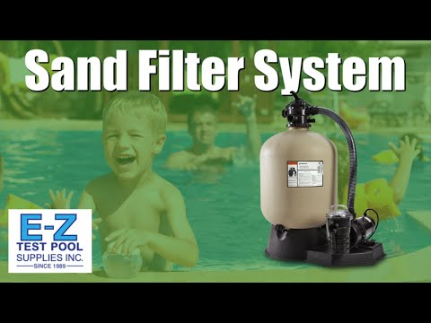 Mighty Max Sand Filter System