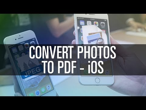 How To Convert Photos to PDF - iOS