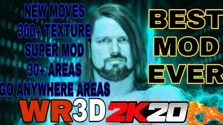 Wr3d new 2k19 mod released with go anywhere areans and 50 3d