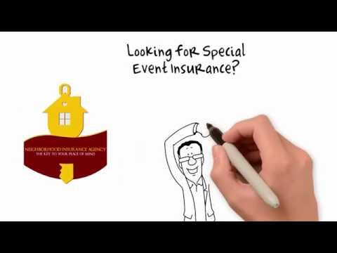 Event Insurance, Santa Ana, CA - Neighborhood Insurance Agency