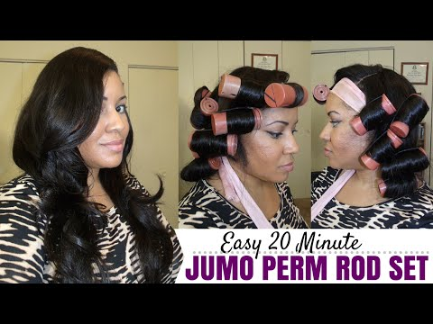 Easy 20 Minute Perm Rod Set