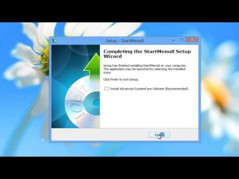 Windows 8 How to get normal Start Menu