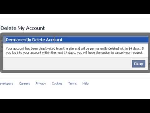 How to delete Facebook Account forever HD