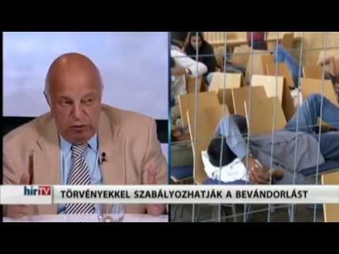 Nógrádi György - Megállhat-e a menekültáradat? (hírTV, 2015.08.04.)