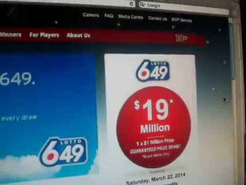 It's LOTTO MAX time again
