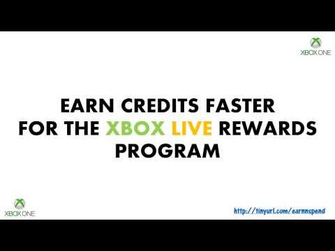 FREE CREDITS FOR XBOX LIVE REWARDS PROGRAM - EARN CREDITS FASTER