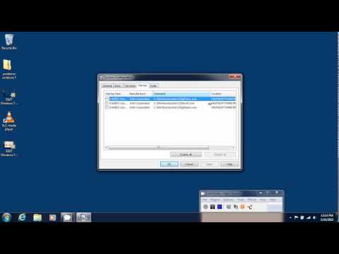FIXIT Windows 7 tips tricks How to speed up computer using msconfig to remove startup items