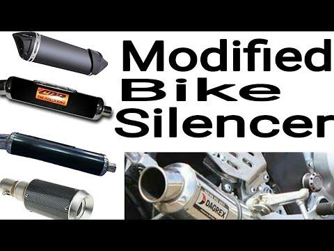 Modified bike silencer