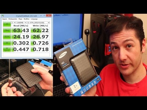 Samsung M3 1TB Portable USB 3.0 Hard Drive: Unboxing & Speed Test