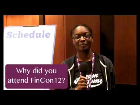 Blogger Interviews -  Natalie from BrokeNewlyweds at FinCon12