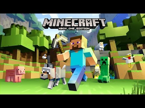 Minecraft Xbox One Edition!!! How To Download Minecraft On The Xbox One!!!