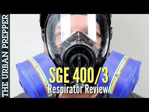 SGE 400/3 Gas Mask Review