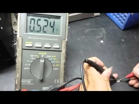 Cara Tes Transistor FET IRFZ34