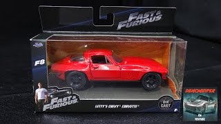 Fast & Furious 8 - Letty's 1966 Chevy Corvette Stingray - Jada Toys 1:32 Unboxing