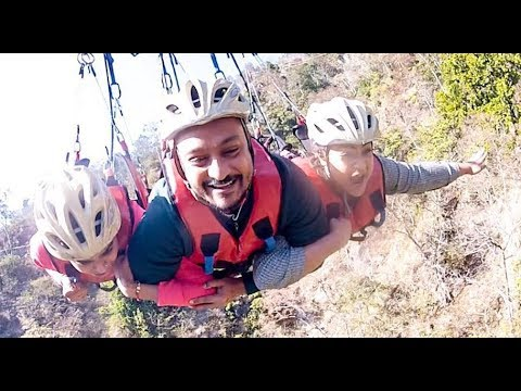 When I did Asia's Longest Zipline | Adventure Vlog