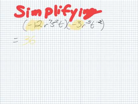 Simplfying (Grade 10 Academic)