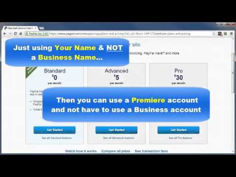 Paypal Tutorial - PayPal Account Types - Paypal Explained