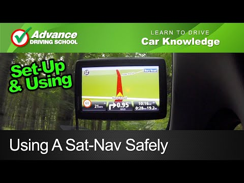 Using A Sat-Nav Safely  |  New UK Driving Test