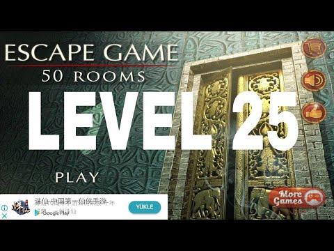Escape The 100 rooms 1 - Level 25