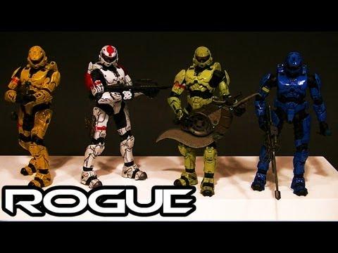 McFarlane Halo 3 ROGUE ARMOR Comaprative Figure Review