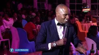 Alex Muhangi at Comedy Store Jan 2018