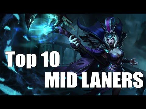 Top 10: Mid Laners! Season 5 - League of Legends