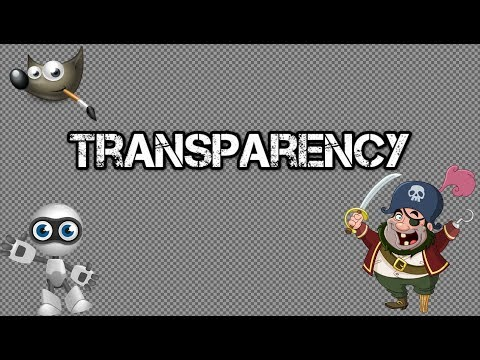 How to Make a Transparent Image Using Gimp 2.8