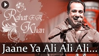 Jaane Ya Ali Ali - Sufiana Safar With Rahat Fateh Ali Khan - Popular Sufi Hits