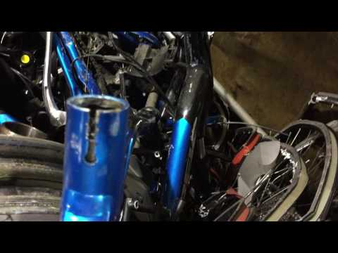 Scrapping Bicycles for Sheet Aluminum Scrap
