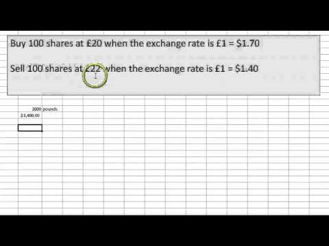 Foreign stock and exchange rate risk